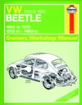 Haynes workshop manual VW Type 1 Beetle 1300-1500cc